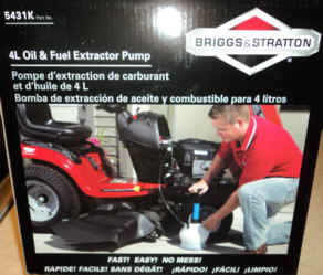 5431K 4 Liter Oil and Fluid Removal Pump
