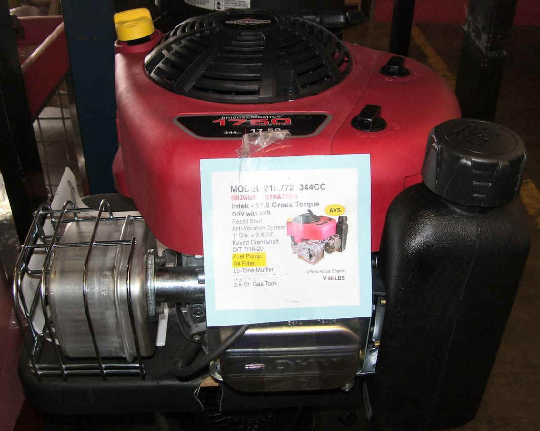 Briggs Stratton Vertical Shaft Small Engines 22 Hp And Wiring Diagram 21r772 175 Torque Engine