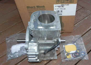 Briggs & Stratton Short Block - Part No. 697761