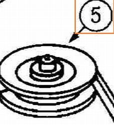 Idler Pulley Part No 78-121