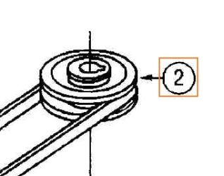 Pulley Part No 78-646