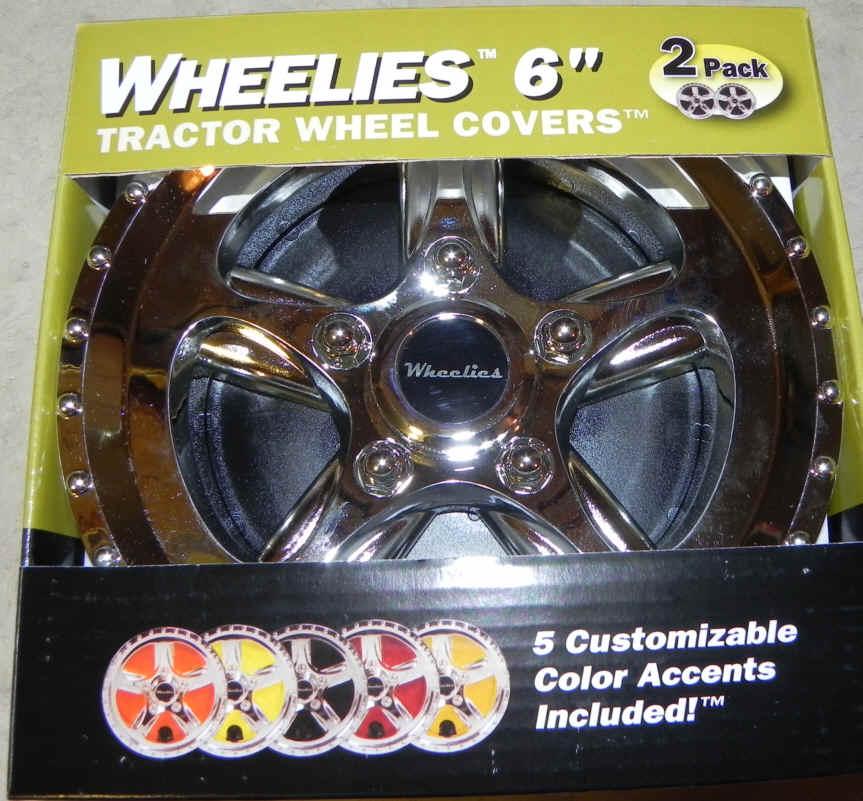 Wheelies 6 inch Tractor Wheel Covers - 186