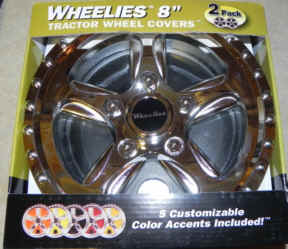Wheelies 8 inch Tractor Wheel Covers - 188
