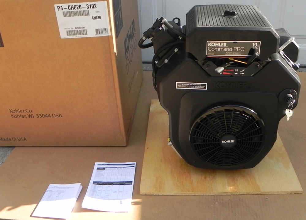 Kohler CH620-3102 Pro Basic 18 HP Command Twin Cylinder