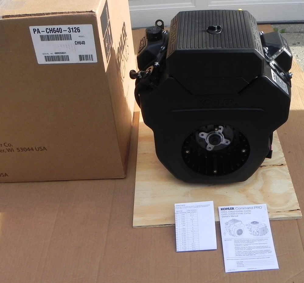 Kohler CH640-3126 fka CH20S-64512 20 HP CH20S SIMPLICITY- SUN STAR