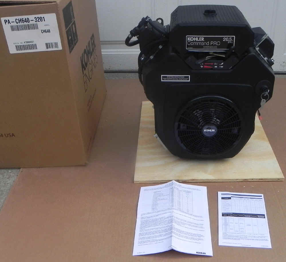 Kohler CH640-3201 fka CH20S-64594 20 HP Command Twin Cylinder