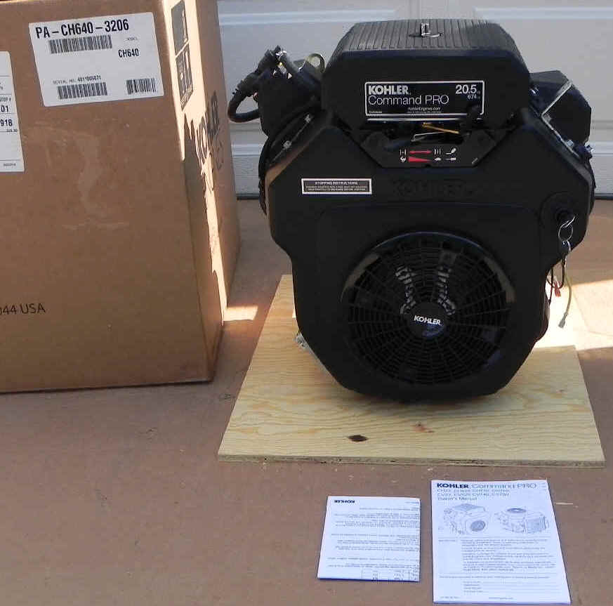 Kohler CH640-3206 20.5 HP Command Twin Cylinder