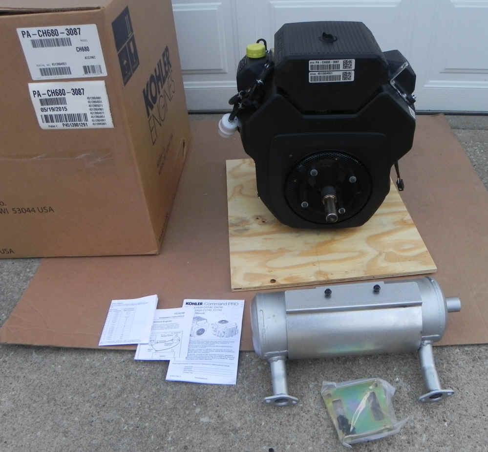 Kohler CH680-3087 22.5 HP Command Twin Cylinder
