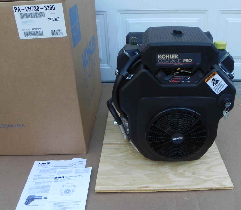 Kohler CH730-3266 21.5 HP Basic LPG Command Series Twin Cylinder