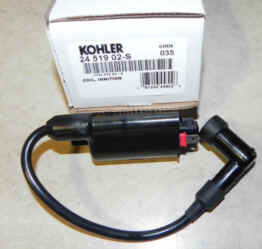 Kohler Ignition Coil Part No. 24 519 02-S