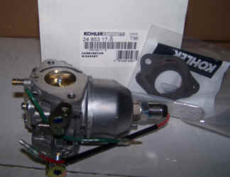 Kohler Carburetor - Part No. 24 853 17-S