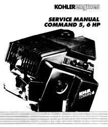 Kohler Service Manual TP-2337-A For CH5-6 Engines