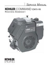 Kohler Service Manual TP-2402-A For CH11-16 Engines