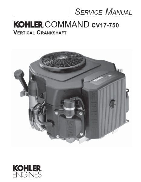 Kohler Engine Repair Parts : Kohler service manual  for cv engines