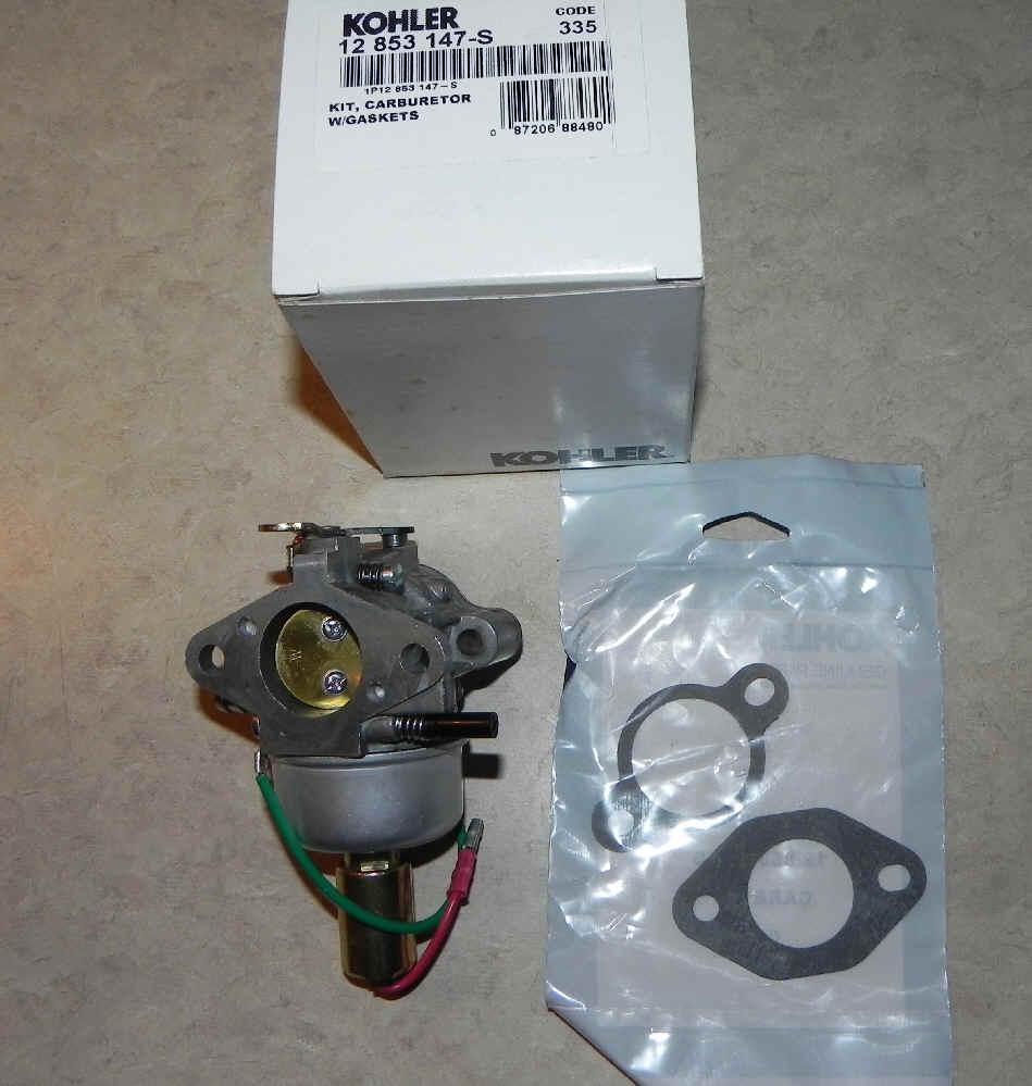 Kohler Carburetor Part No 12 853 147 S