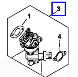 Kohler Carburetor - Part No. 12 853 89-S