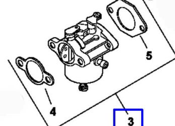 Kohler Carburetor - Part No. 12 853 91-S