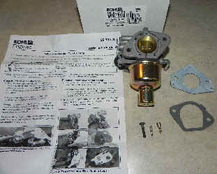 Kohler Carburetor - Part No. 16 853 20-S