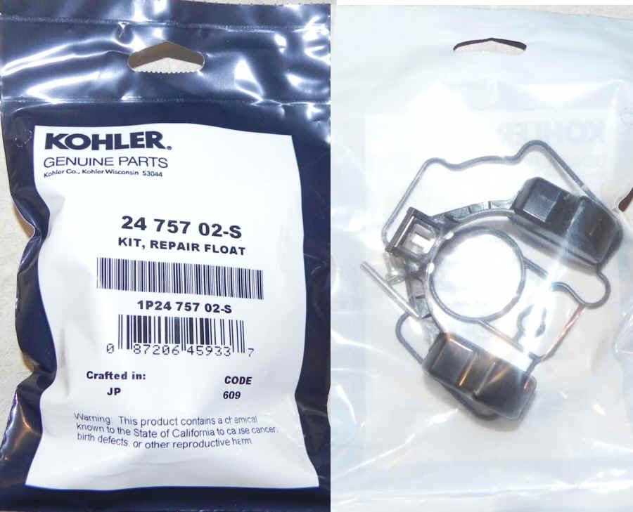 Kohler Float Repair Kit 24 757 02-S