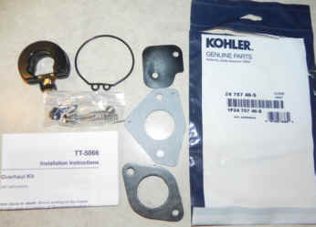 Kohler Carburetor Repair Kit 24 757 46-S