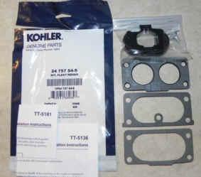 Kohler FloatRepair Kit 24 757 54-S