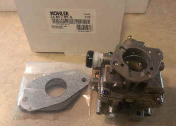 Kohler Carburetor - Part No. 24 853 03-S