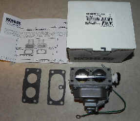Kohler Carburetor - Part No. 24 853 112-S