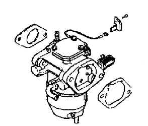 Kohler Carburetor - Part No. 24 853 23-S