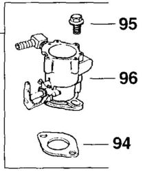 Kohler Carburetor - Part No. 24 853 30-S