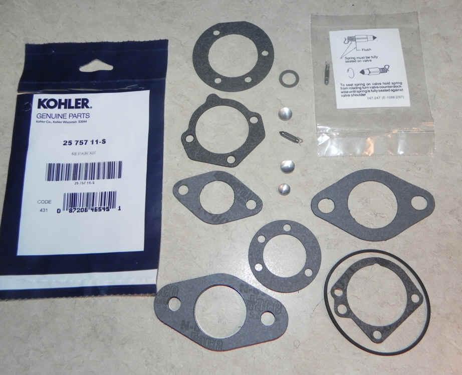 Kohler Carburetor Kit 25 757 11-S