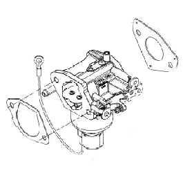 Kohler Carburetor - Part No. 32 853 61-S