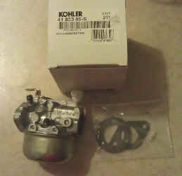 Kohler Carburetor - Part No. 41 853 09-S