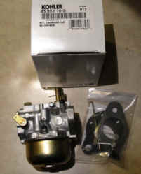 Kohler Carburetor - Part No. 45 853 10-S