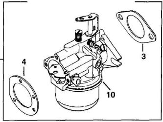 Kohler Carburetor - Part No. 45 853 16-S