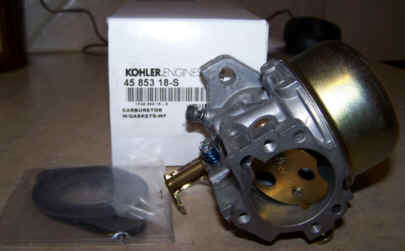 Kohler Carburetor - Part No. 45 853 18-S