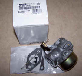 Kohler Carburetor - Part No. 47 853 20-S