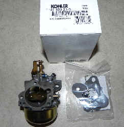 Kohler Carburetor - Part No. 47 853 21-S