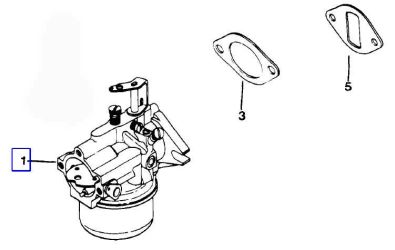 Kohler Carburetor - Part No. 47 853 39-S