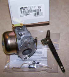 Kohler Carburetor - Part No. 52 853 23-S