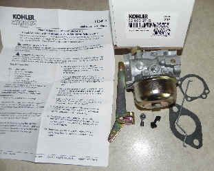 Kohler Carburetor - Part No. 52 853 27-S