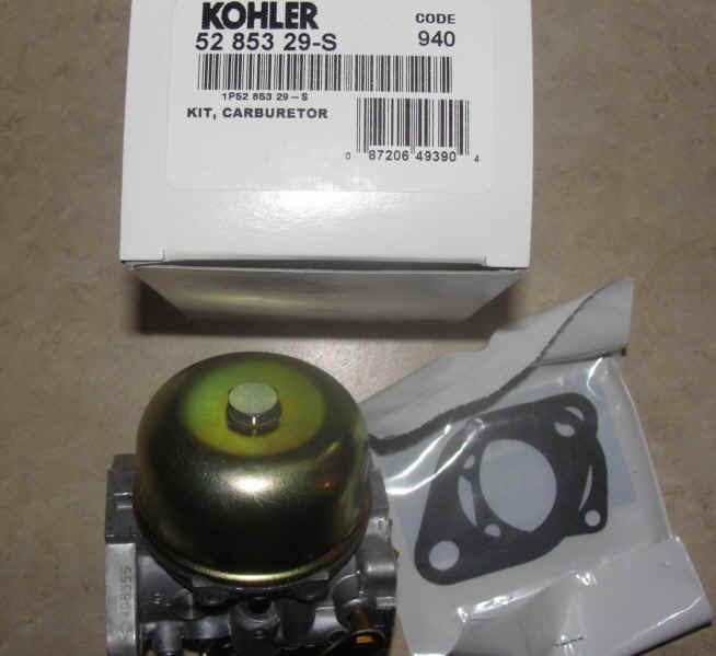 kohler command 25 carburetor engines  kohler  free engine