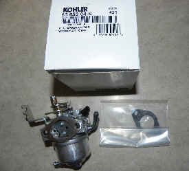 Kohler Carburetor - Part No. 63 853 04-S