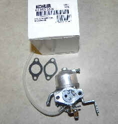 Kohler Carburetor - Part No. 63 853 33-S