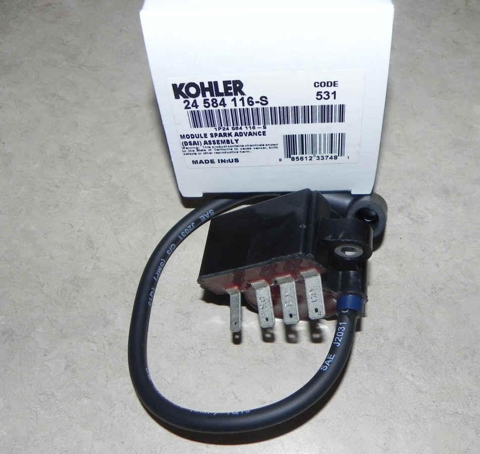 Kohler Advance Spark Module Wiring Wire Data Schema Ignition Coil Diagram All Kind Of Engine 15 Hp
