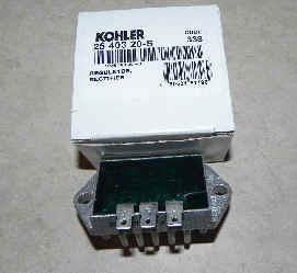 Kohler Rectifier Regulator Part No 25 403 20-S