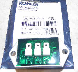 Kohler REGULATOR RECTIFIER 20-25 AMP Part No 25 403 29-S