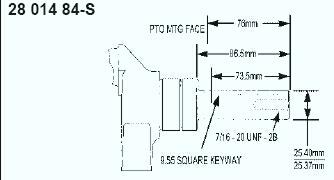 Kohler Crankshaft - Part No. 28 014 84-S