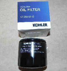 Kohler Oil Filter Part No 12 050 01-S1