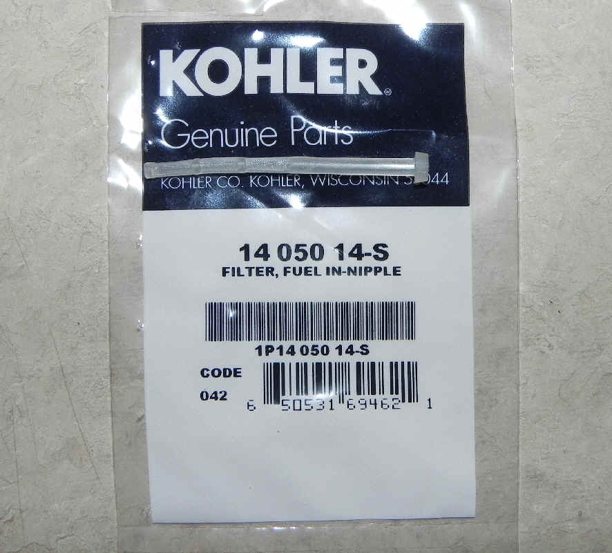 kohler fuel filter part no 14 050 14