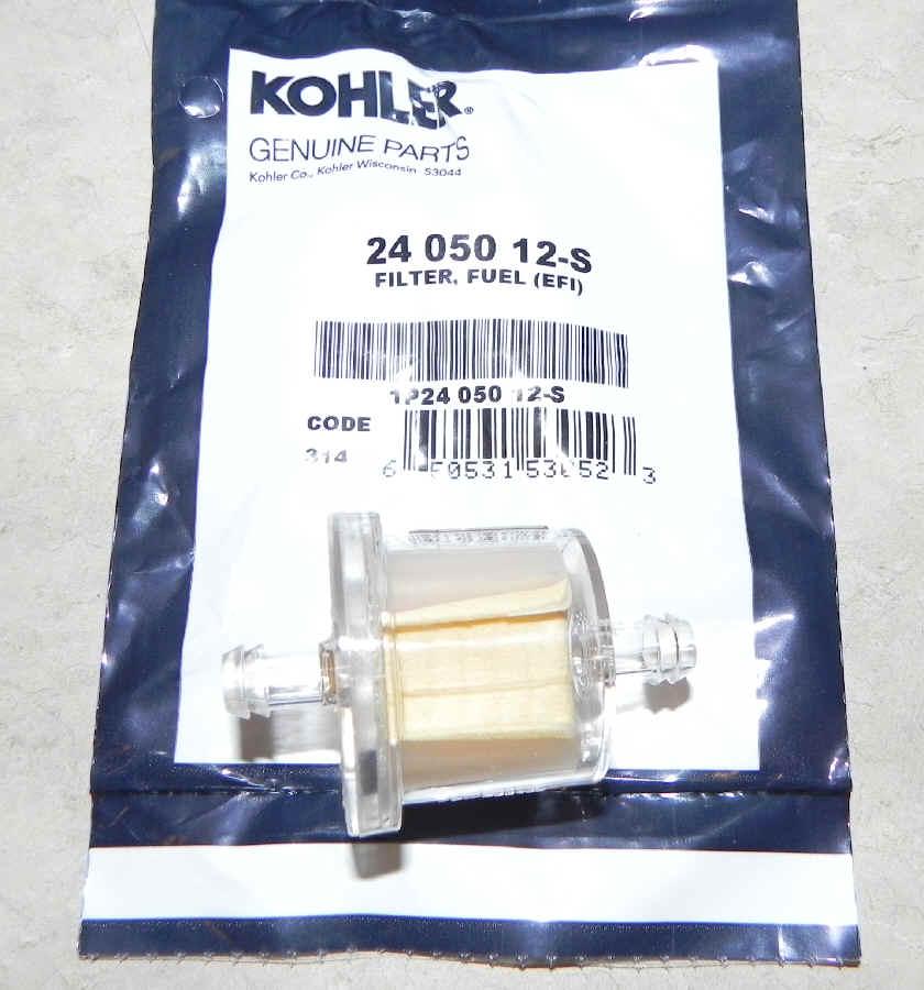kohler fuel filter installing kohler engine fuel filter kohler fuel filter part no 24 050 12-s